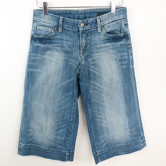 Citizens Of Humanity Denim - CITIZENS OF HUMANITY l Jerome Dehan Cropped Jeans
